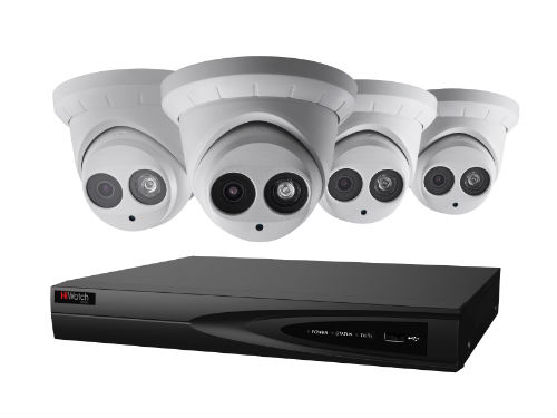 cctv camera with dvr decoder device